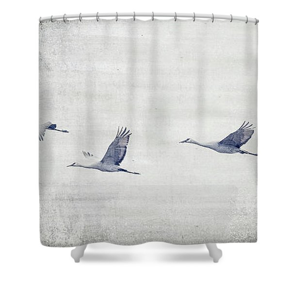 Dream Sequence Shower Curtain