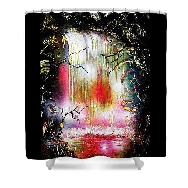 Dream Waterfall Shower Curtain