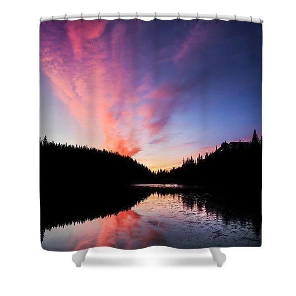 Dreamburst Shower Curtain