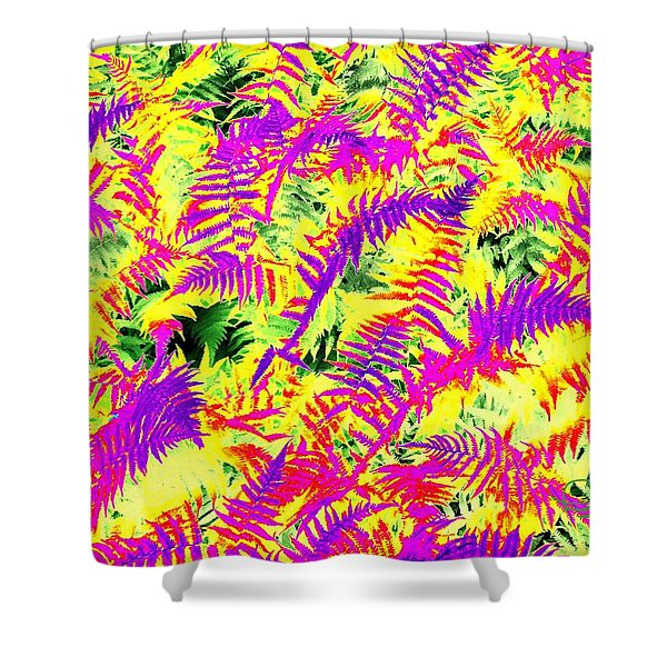 Dreaming Ferns Shower Curtain