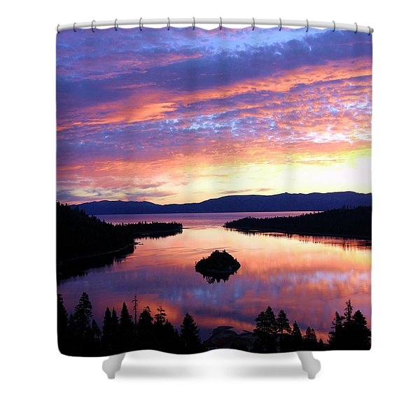 Shower Curtain featuring the photograph Dreaming Of Sunrise by Sean Sarsfield