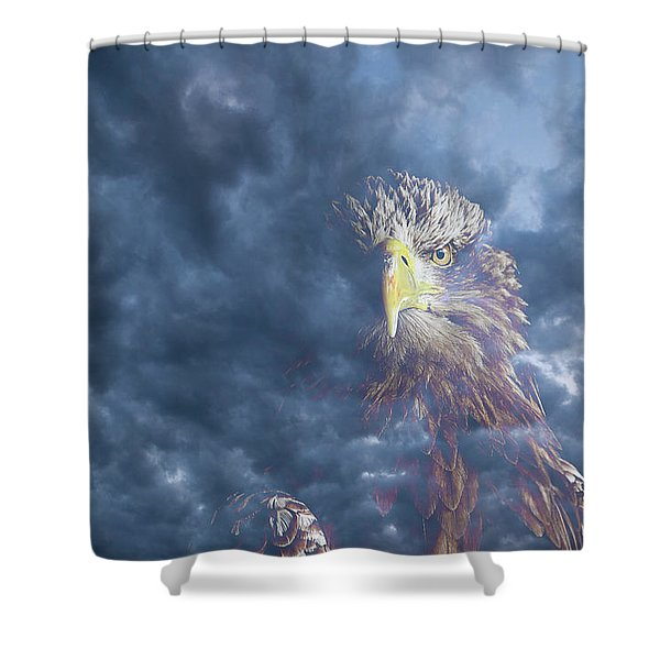 Dreaming Of The Sky Shower Curtain
