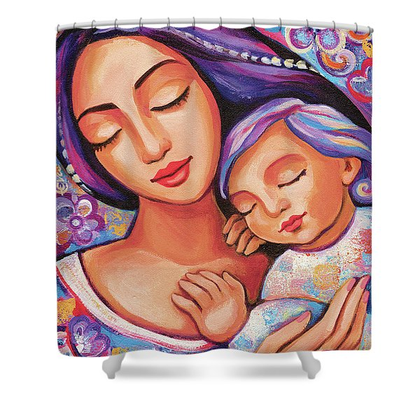 Dreaming Together Shower Curtain
