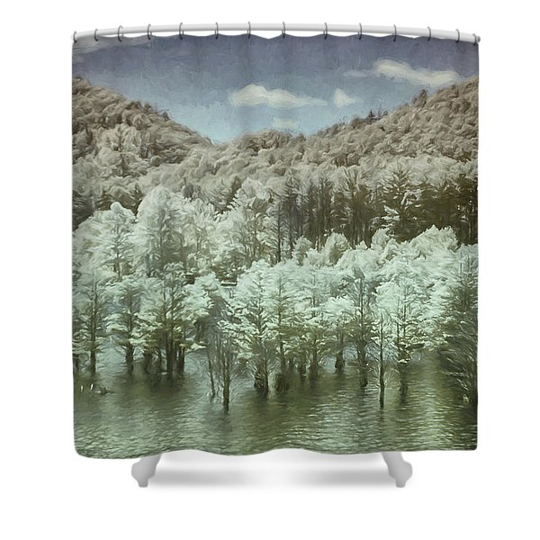 Dreaming Without Words Shower Curtain