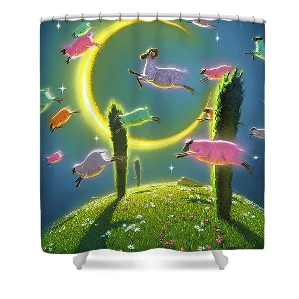 Dreamland II Shower Curtain