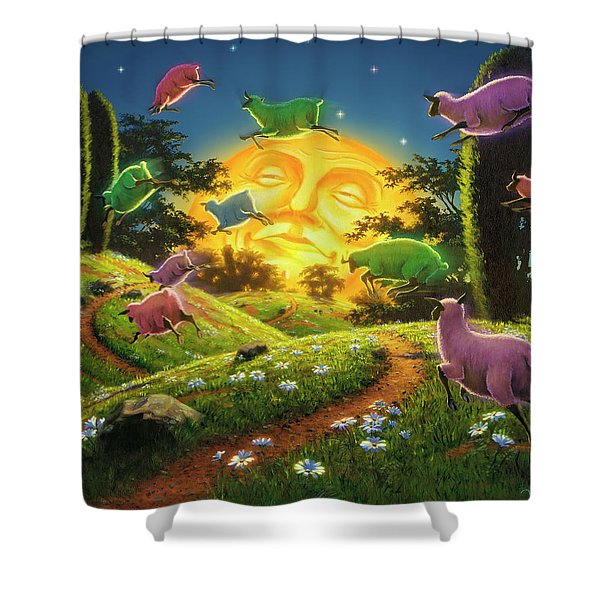Dreamland IIi Shower Curtain