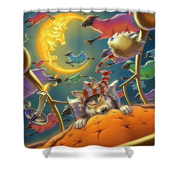 Dreamland Iv Shower Curtain