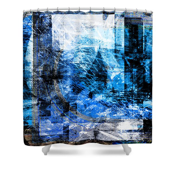 Dreams At A Vintage Cafe Shower Curtain