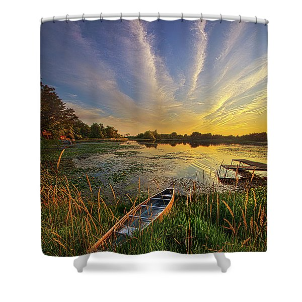 Dreams Of Dusk Shower Curtain