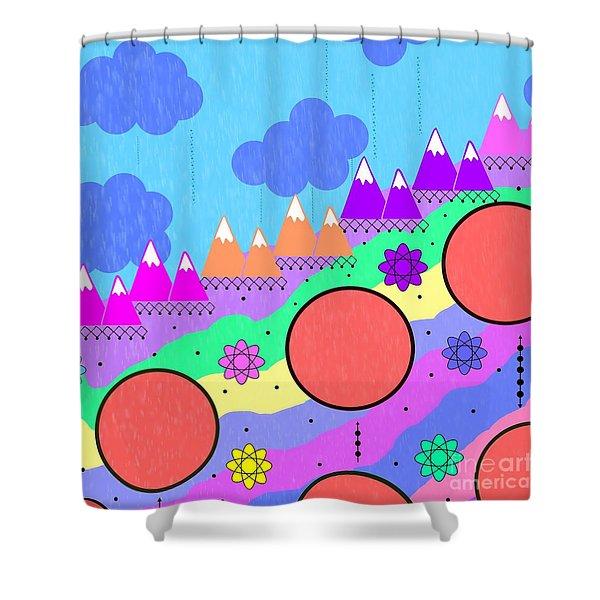 Dreamscape Shower Curtain