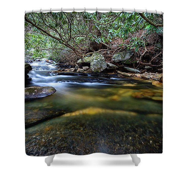 Dreamy Creek Shower Curtain