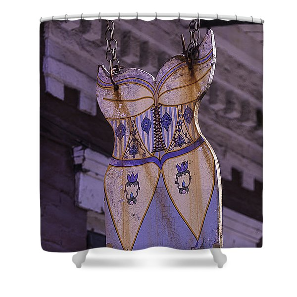 Dress Sign French Quarter Shower Curtain