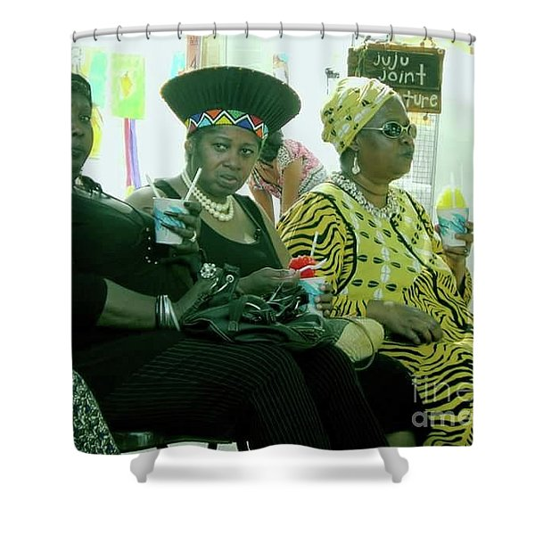 Dressed To The Nines Shower Curtain
