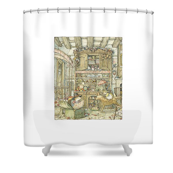 Dressing Up At The Old Oak Palace Shower Curtain
