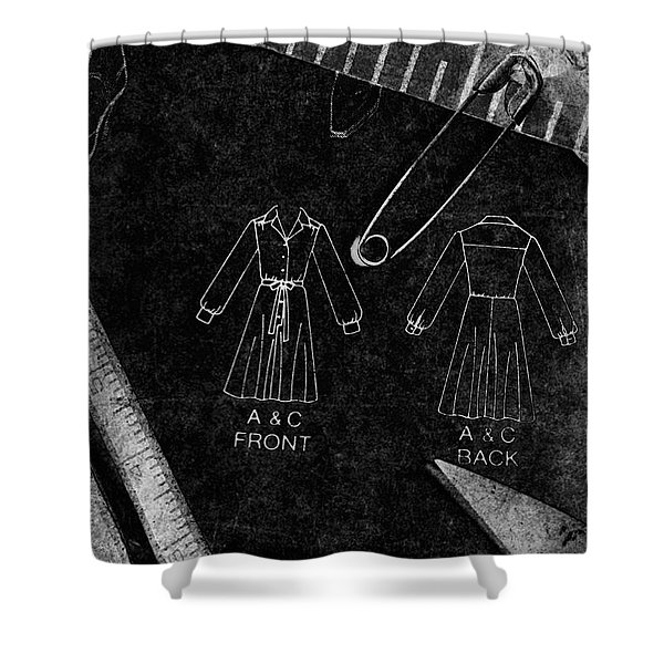 Dressmaking Handiwork Shower Curtain