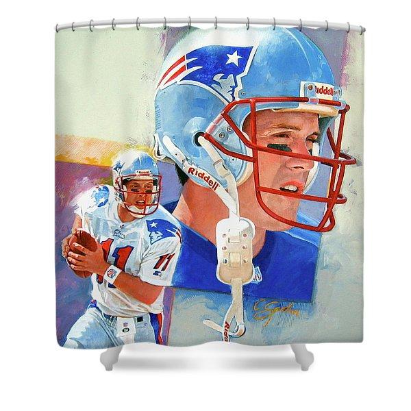 Drew Bledsoe Shower Curtain