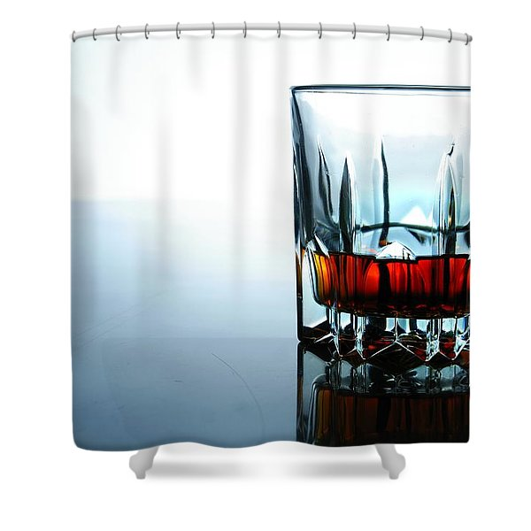 Drink In A Glass Shower Curtain