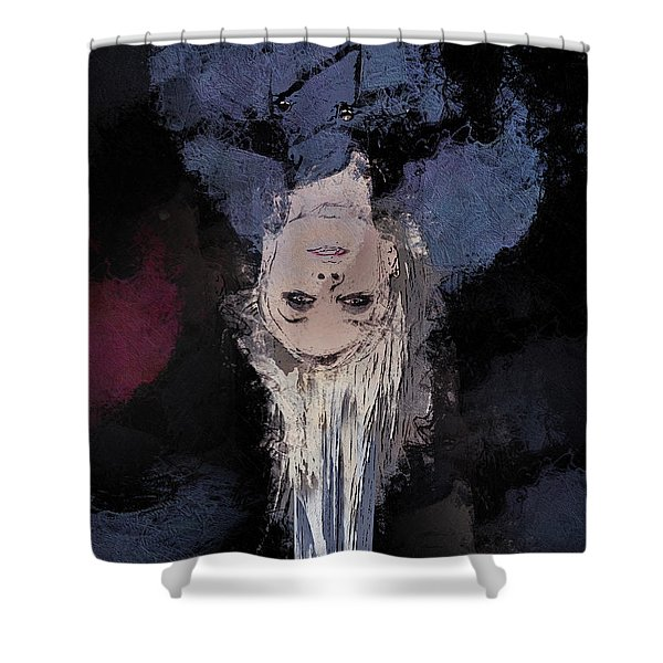 Drip Shower Curtain