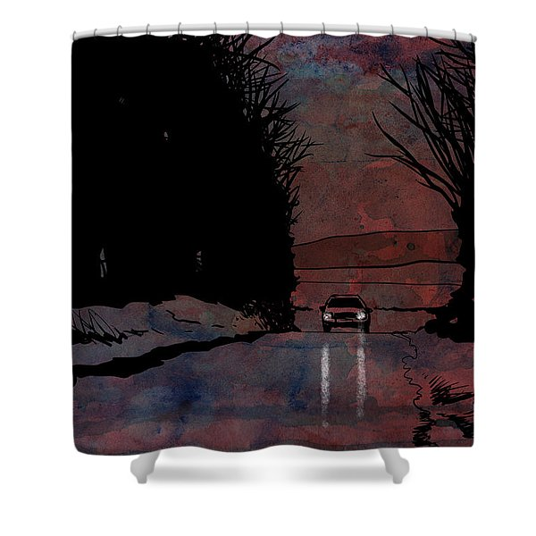 Drive 2 Shower Curtain