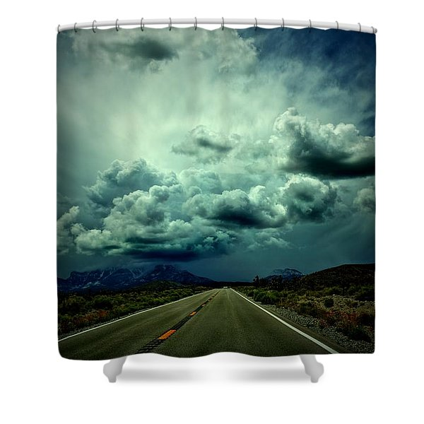 Drive On Shower Curtain