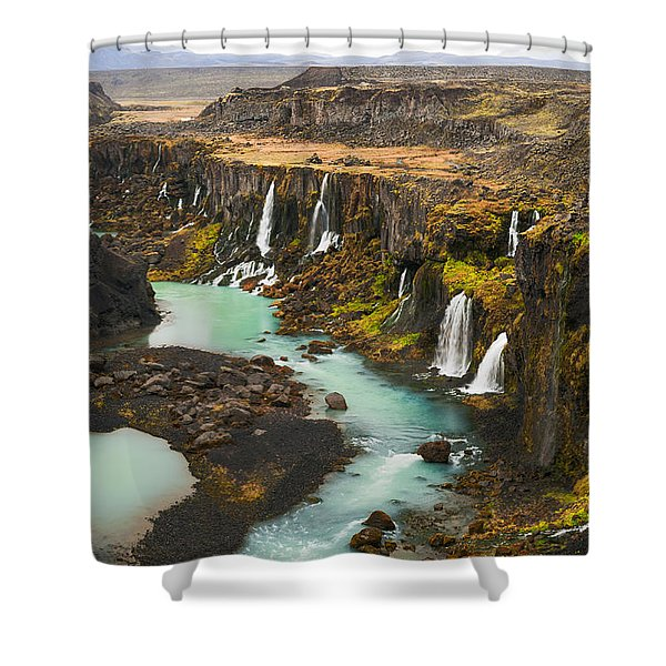 Driven To Tears Shower Curtain