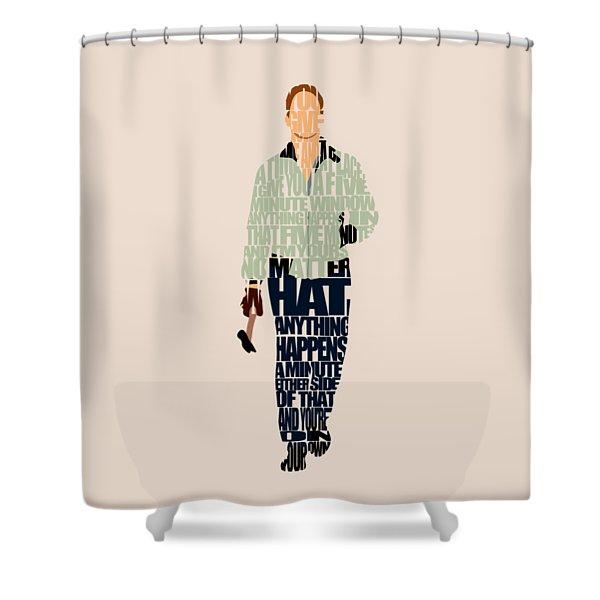 Driver - Ryan Gosling Shower Curtain