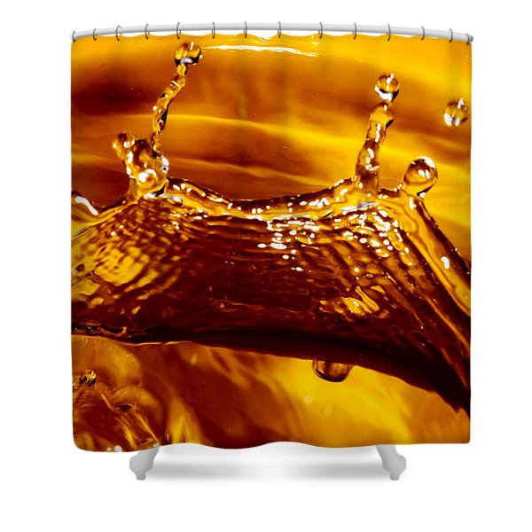 Drop Of Gold Shower Curtain