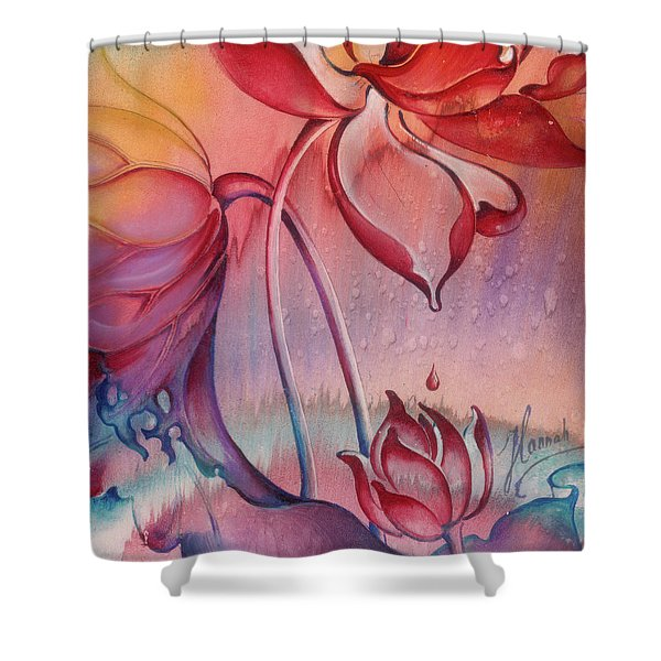Drop Of Love Shower Curtain