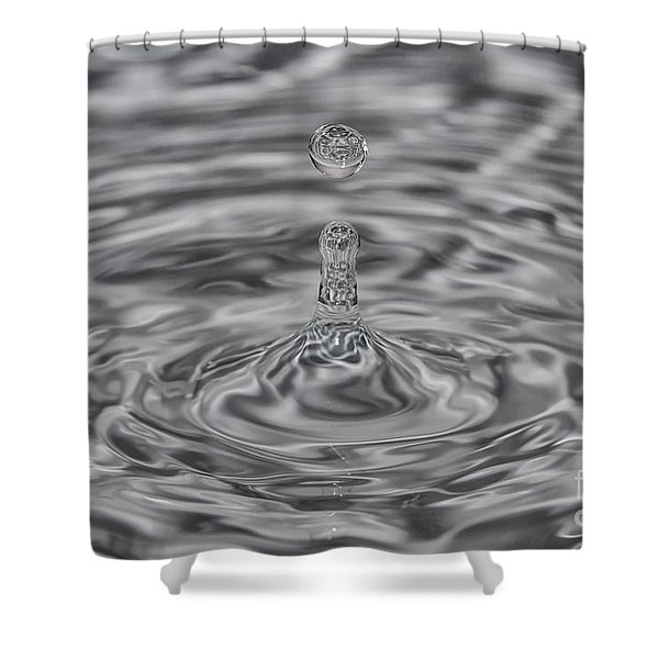 Drops 3 Shower Curtain