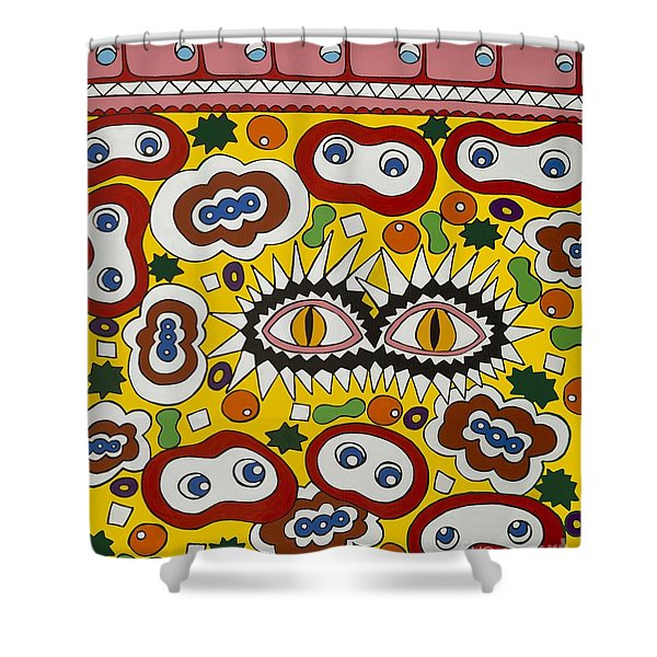 Drugs In The Blood Shower Curtain