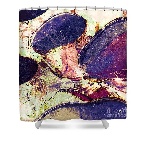 Drum Roll Shower Curtain