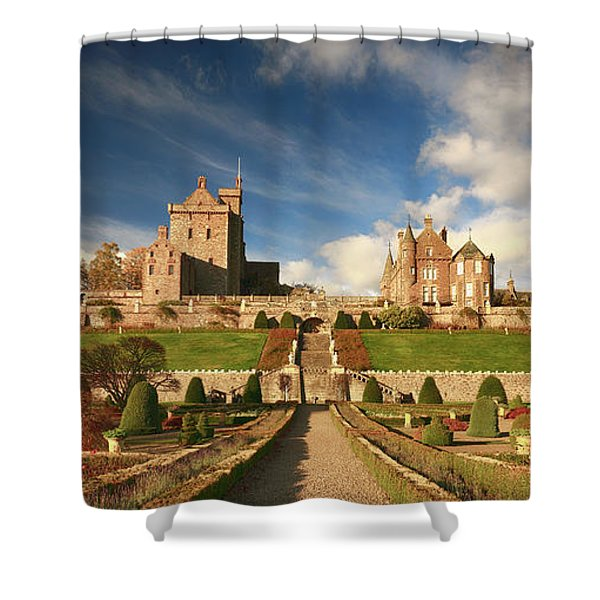 Drummond Castle 3 Shower Curtain
