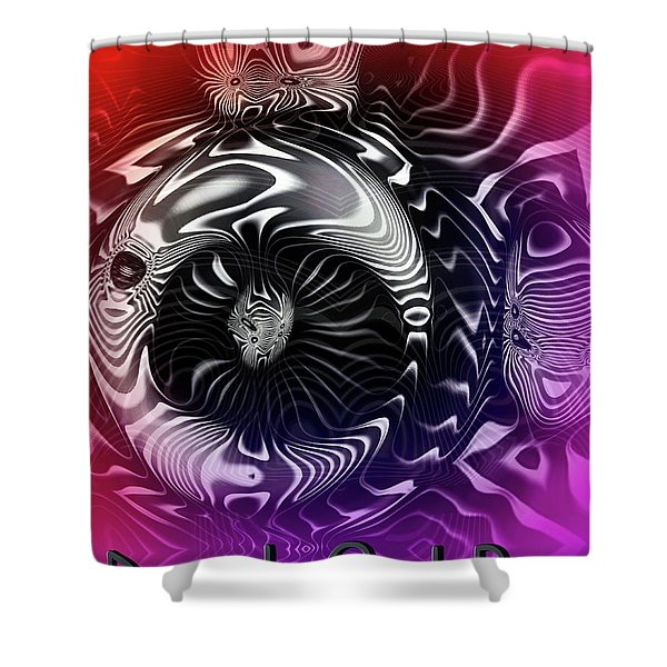 Drunk Owl Bar Shower Curtain