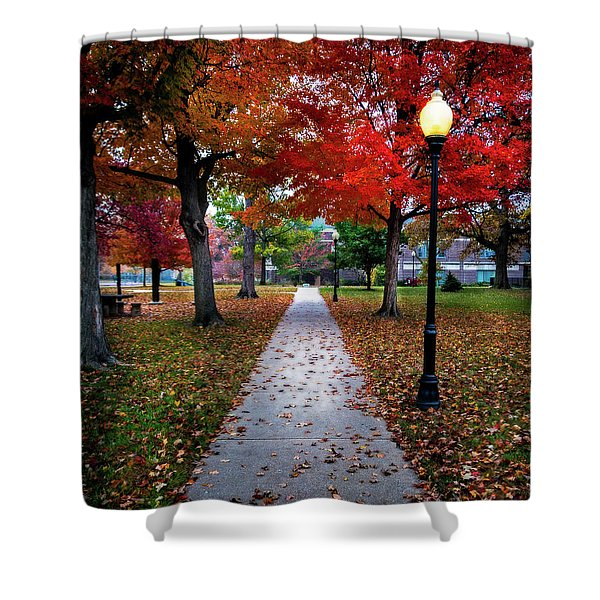 Drury Fall Shower Curtain