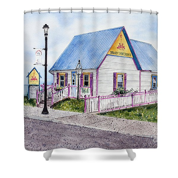 Drury Lane Books Shower Curtain