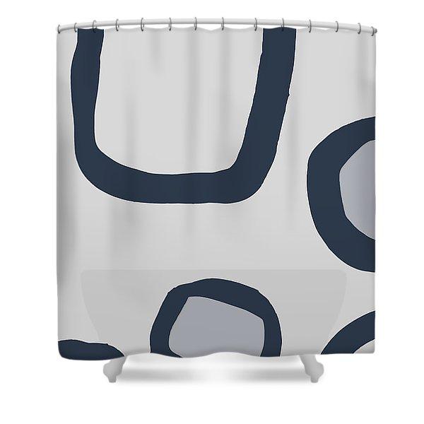 Dry Brush 4 Shower Curtain