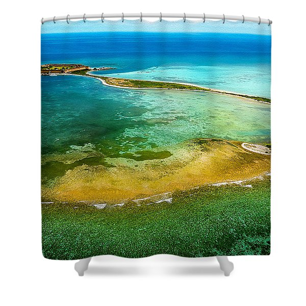 Shower Curtain featuring the photograph Dry Tortugas by Jody Lane