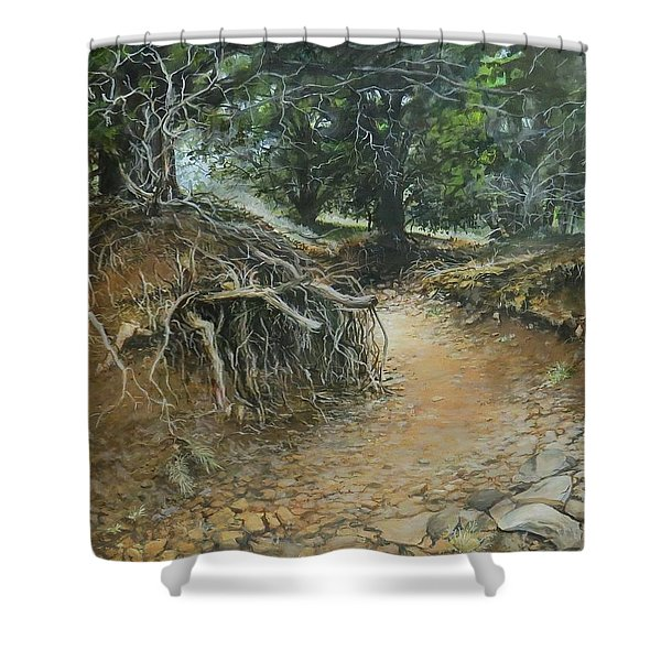 Dry Wash Shower Curtain