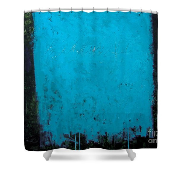 Dualisme-2 Shower Curtain