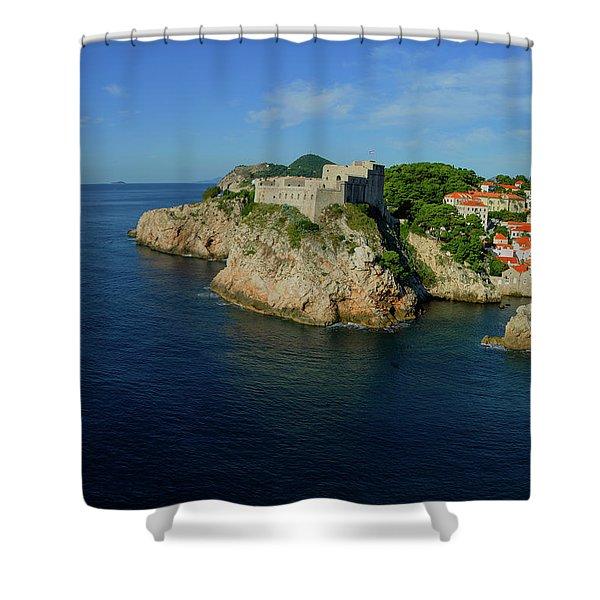 Dubrovnik, Croatia #3 Shower Curtain
