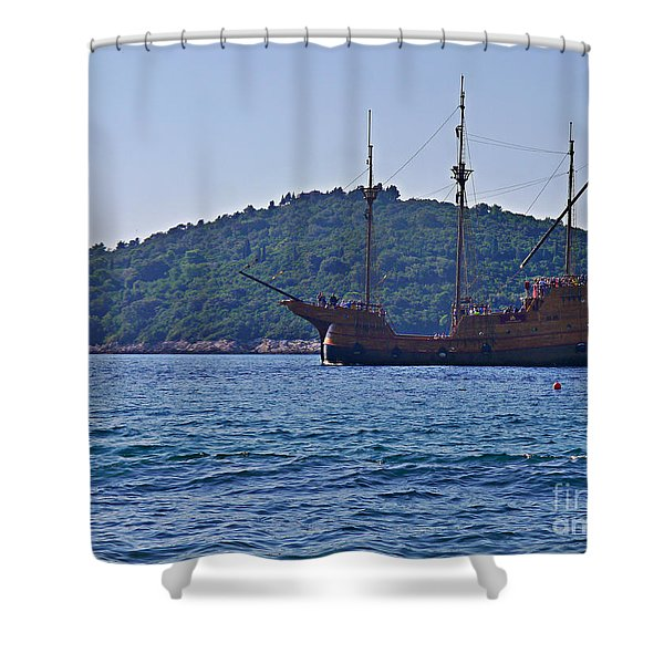 Dubrovniks Game Of Thrones  Shower Curtain