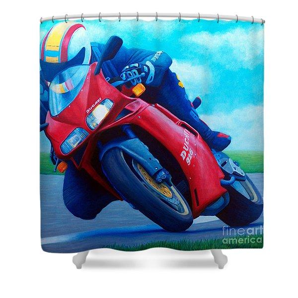 Ducati 916 Shower Curtain
