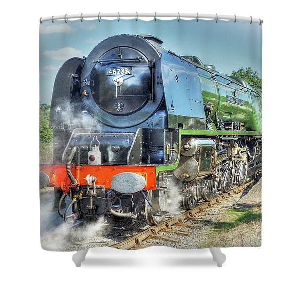 Duchess At Butterley Station Shower Curtain
