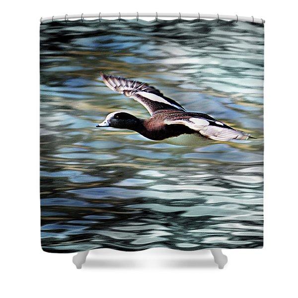 Duck Leader Shower Curtain
