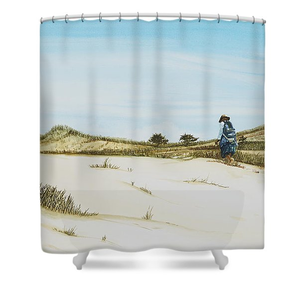 Dune Walker Province Lands Shower Curtain