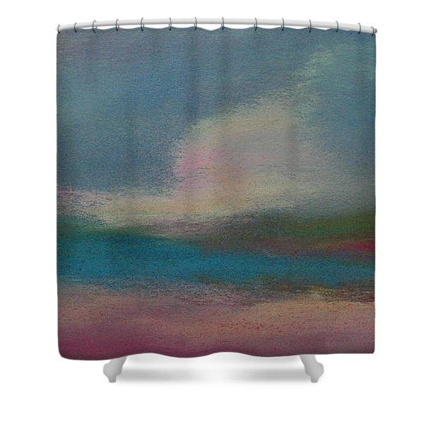 Dunes On The Horizon Shower Curtain