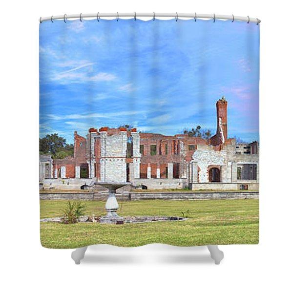 Dungeness Ruins Shower Curtain