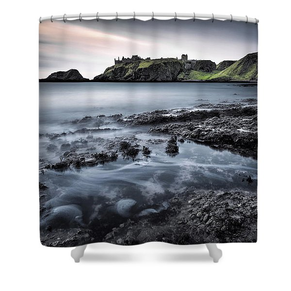 Dunnottar Dawn Shower Curtain