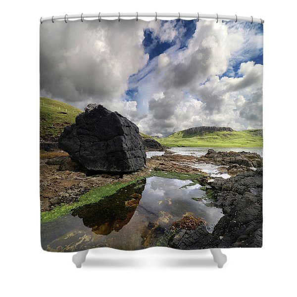 Duntulm Shower Curtain