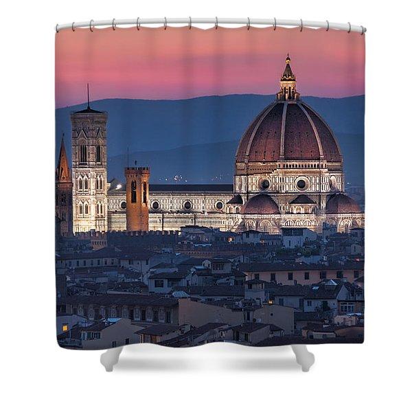 Duomo Di Firenze Shower Curtain